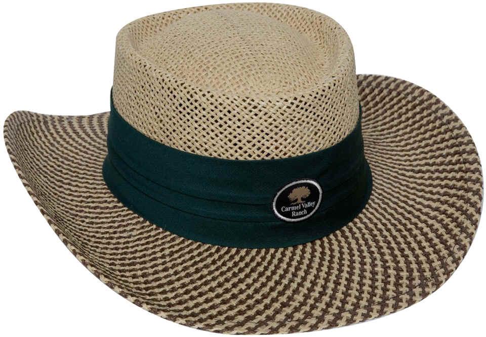 ... golf visor Ahead Gambler Straw Hat 8a10218c39d