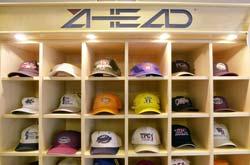 Ahead headwear on display at a PGA Tour event 863930715ab